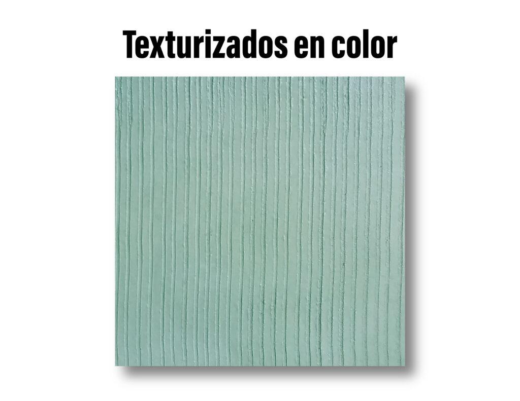 Texturizados en color